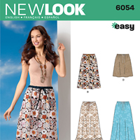 New Look 6054 Pattern ( Size 10-12-14-16-18-20-22 )