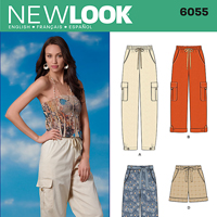New Look 6055 Pattern ( Size 6-8-10-12-14-16 )