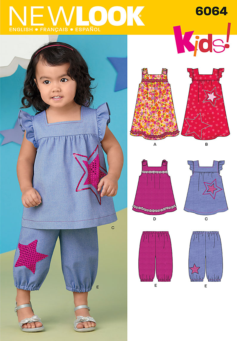 New Look Toddler's Sportswear 6064