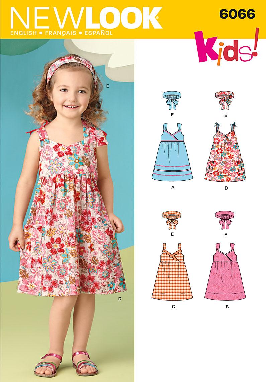 New Look Child's Dresses 6066