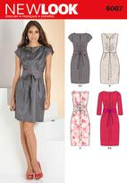 New Look 6067 Pattern ( Size 6-8-10-12-14-16 )