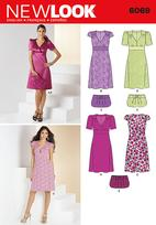 New Look 6069 Pattern ( Size 6-8-10-12-14-16 )