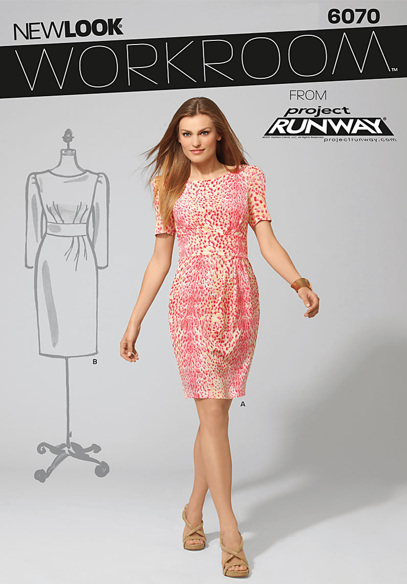 New Look Workroom from Project Runway Misses' Dresses