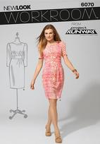 New Look 6070 Pattern ( Size 4-6-8-10-12-14-16 )