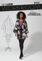 New Look 6072 Pattern ( Size 10-12-14-16-18-20-22 )
