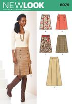 New Look 6079 Pattern ( Size 8-10-12-14-16-18 )