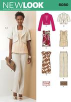 New Look 6080 Pattern ( Size 6-8-10-12-14-16 )