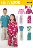New Look 6090 Pattern ( Size 3-4-5-6-7-8 )