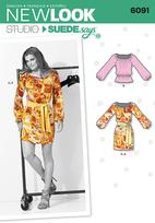 New Look 6091 Pattern ( Size 4-6-8-10-12-14-16 )