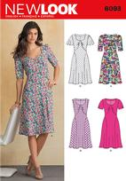 New Look 6093 Pattern ( Size 4-6-8-10-12-14-16 )