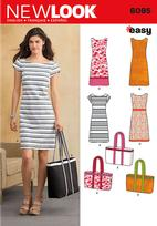 New Look 6095 Pattern ( Size 10-12-14-16-18-20-22 )