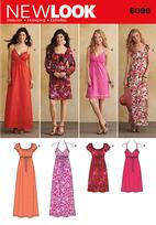 New Look 6096 Pattern ( Size 4-6-8-10-12-14-16 )