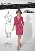 New Look 6097 Pattern ( Size 10-12-14-16-18-20-22 )