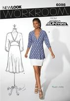 New Look 6098 Pattern ( Size 8-10-12-14-16-18 )