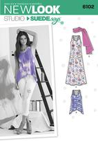 New Look 6102 Pattern ( Size 4-6-8-10-12-14-16 )