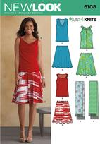 New Look 6108 Pattern ( Size 4-6-8-10-12-14-16 )