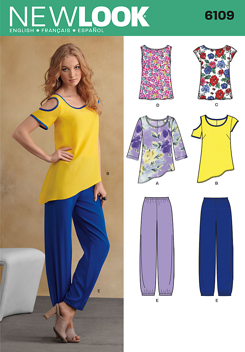 New Look top, and pants 6109