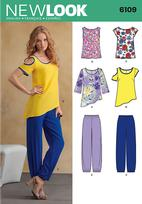 New Look 6109 Pattern ( Size 8-10-12-14-16-18 )