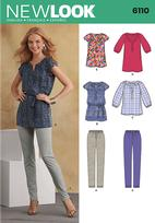 New Look 6110 Pattern ( Size 10-12-14-16-18-20-22 )
