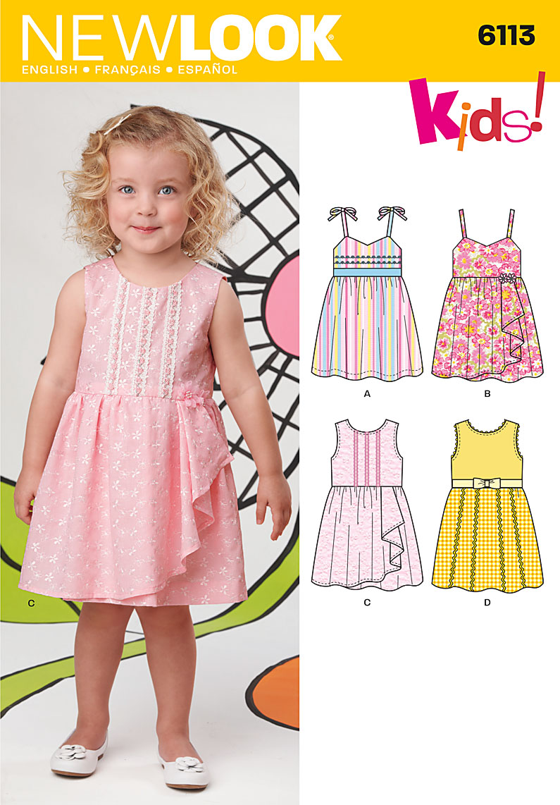 New Look Toddler Dress 6113