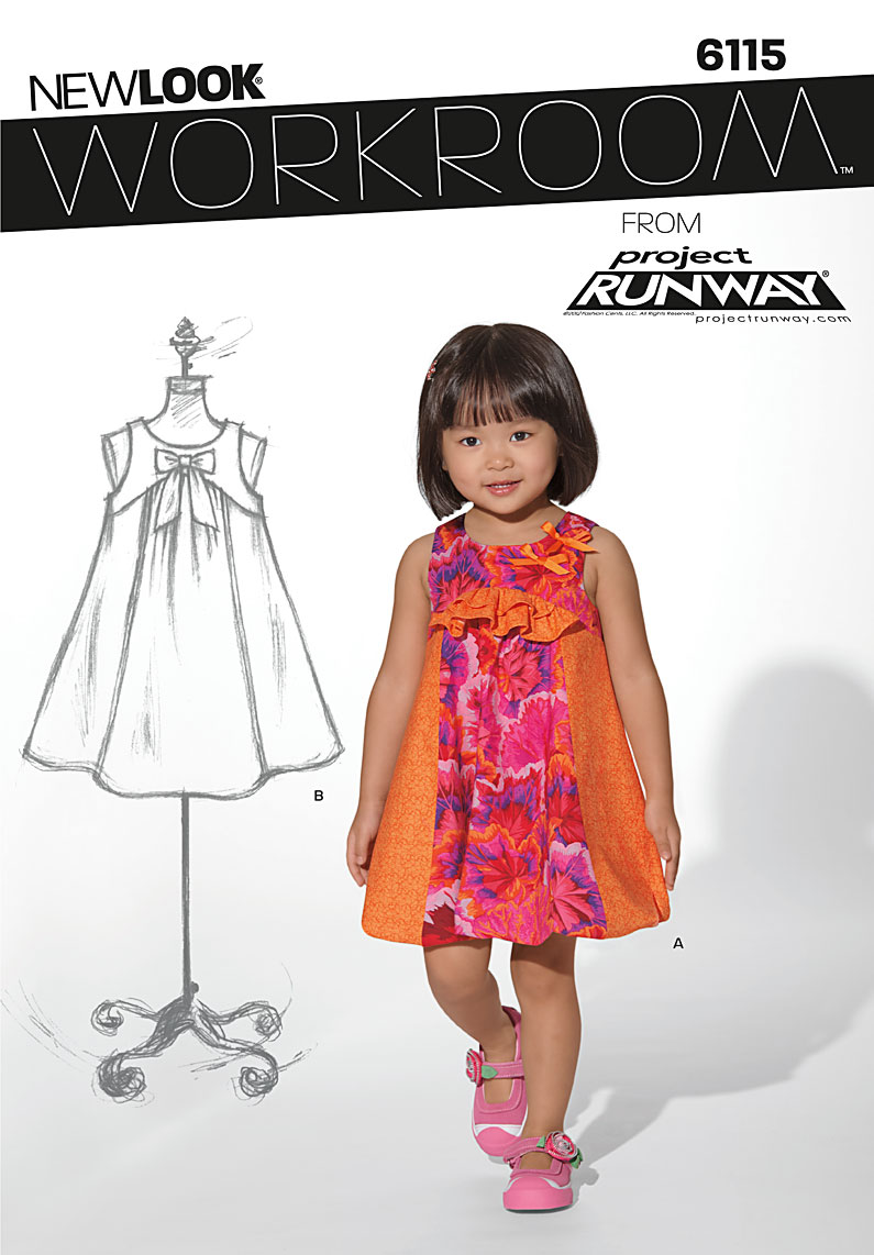 New Look Toddler Dress 6115