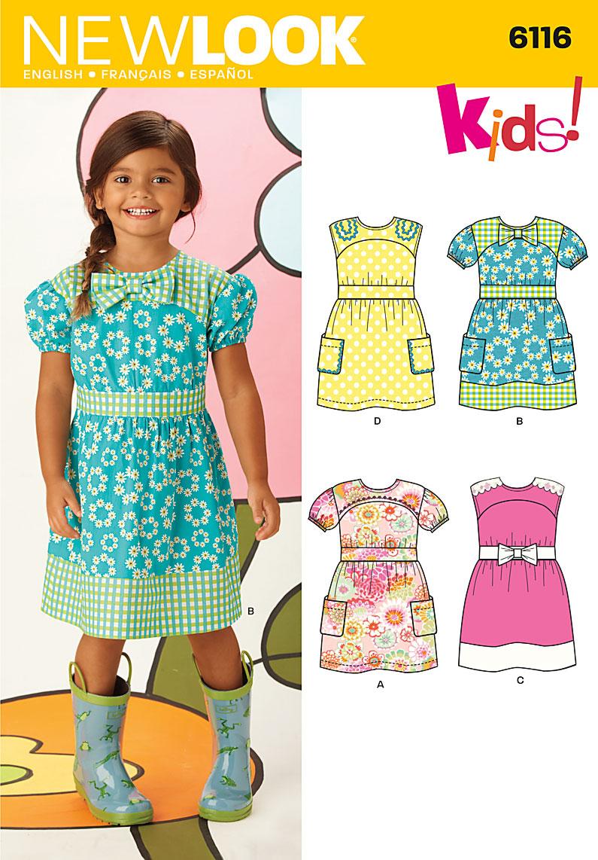 New Look Children's Dress 6116