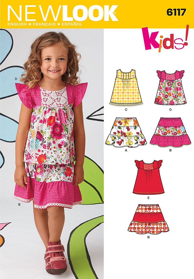 New Look Children's top and skirt 6117