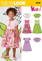 New Look 6118 Pattern ( Size 3-4-5-6-7-8 )