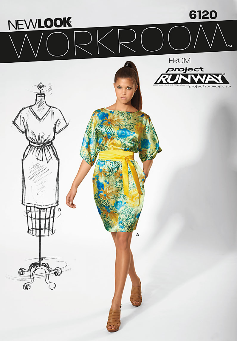 New Look Misses Dress 6120