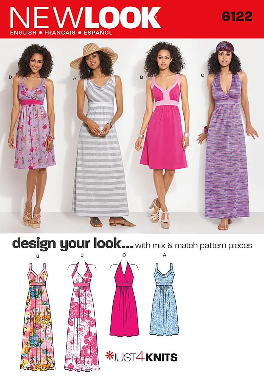 New Look Misses Dress 6122