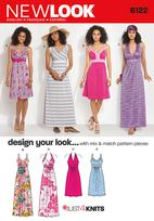 New Look 6122 Pattern ( Size 8-10-12-14-16-18 )