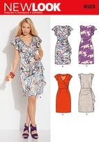 New Look 6123 Pattern ( Size 8-10-12-14-16-18 )