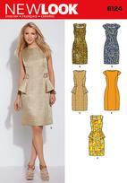 New Look 6124 Pattern ( Size 4-6-8-10-12-14-16 )
