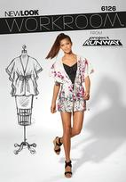 New Look 6126 Pattern ( Size XS-S-M-L-XL )