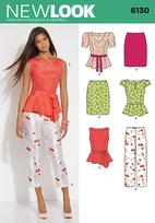 New Look 6130 Pattern ( Size 8-10-12-14-16-18 )