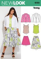 New Look 6133 Pattern ( Size 8-10-12-14-16-18 )