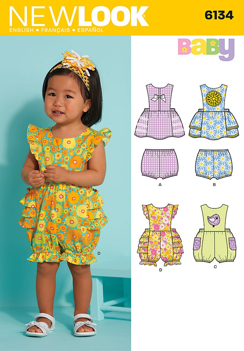 New Look Babies Dress and Romper 6134