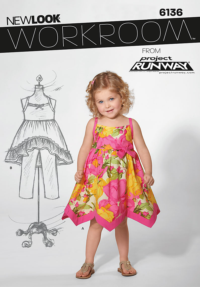 New Look Toddler dress 6136