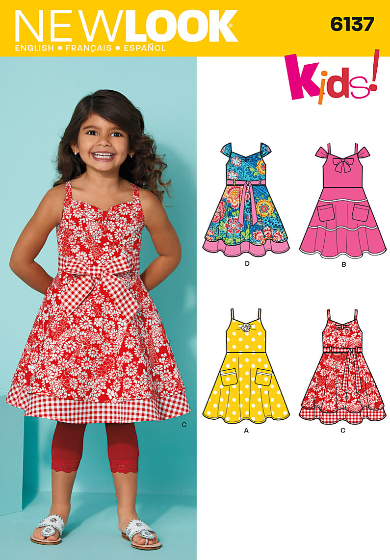 New Look Girls dress, belt 6137