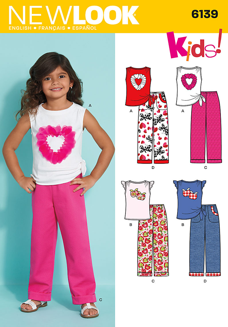 New Look Children's top and pants 6139