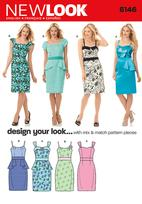 New Look 6146 Pattern ( Size 4-6-8-10-12-14-16 )