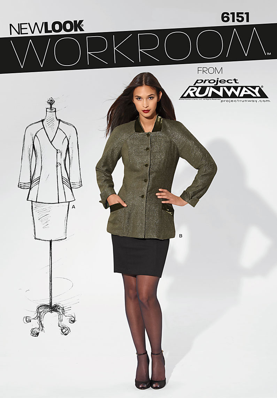 New Look Misses Jacket 6151