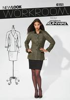 New Look 6151 Pattern ( Size 4-6-8-10-12-14-16 )