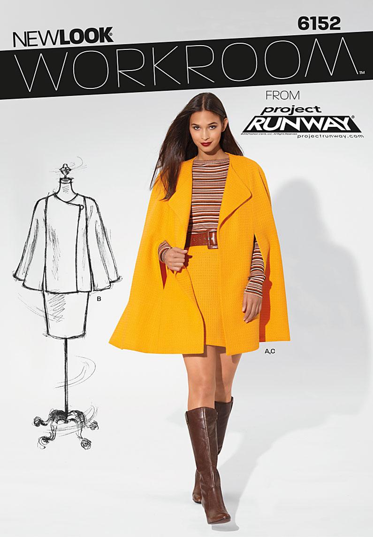 New Look Misses Coat 6152