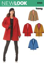 New Look 6153 Pattern ( Size 10-12-14-16-18-20-22 )