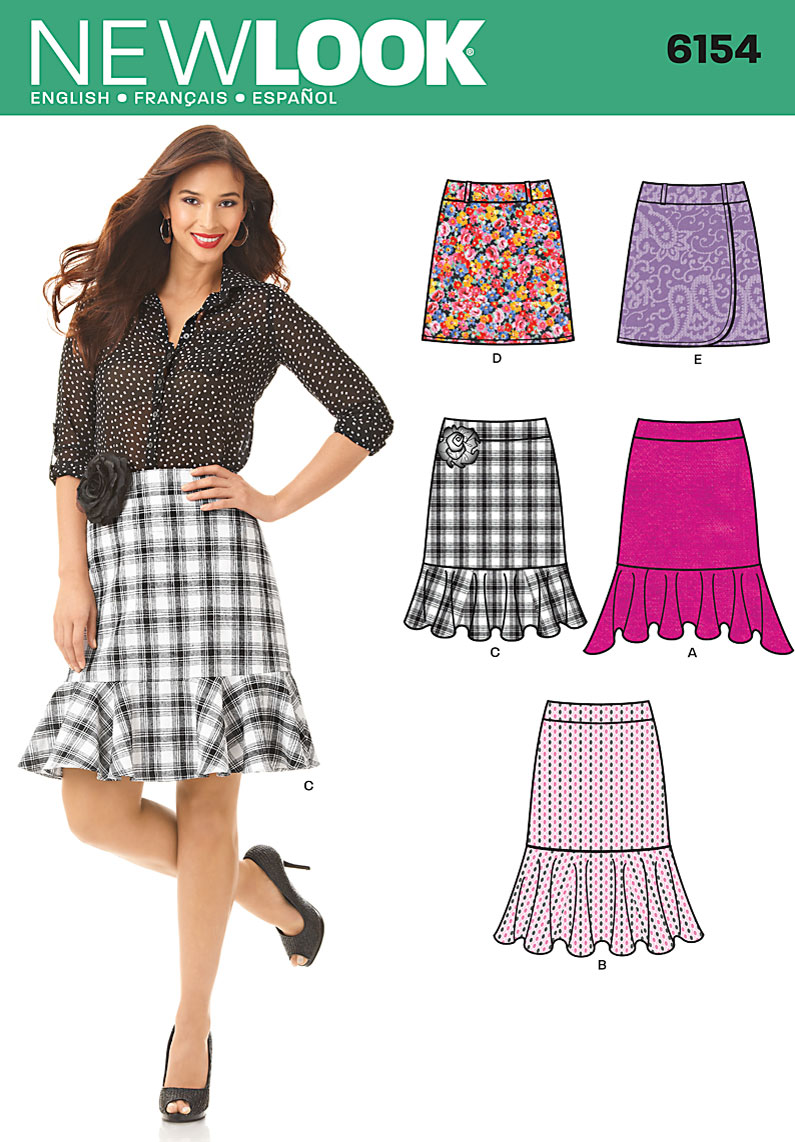 New Look Misses Skirt 6154