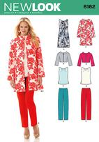 New Look 6162 Pattern ( Size 10-12-14-16-18-20-22 )
