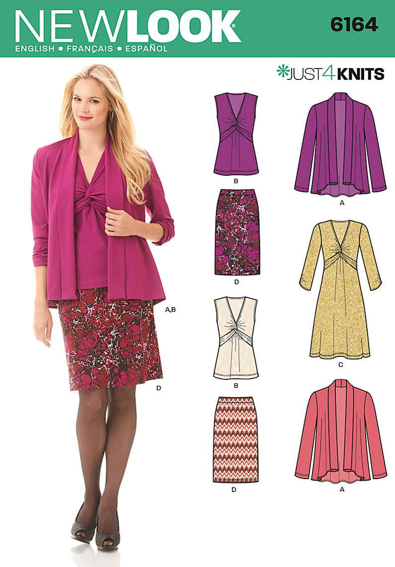 New Look MIsses Cardigan, Dress and Skirt 6164