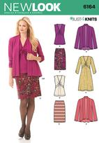 New Look 6164 Pattern ( Size 8-10-12-14-16-18 )