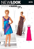 New Look 6173 Pattern ( Size 4-6-8-10-12-14-16 )